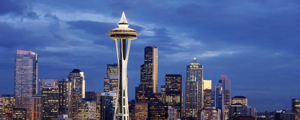 Башня_Спейс-Нидл_и_небоскребы_Сиэтла